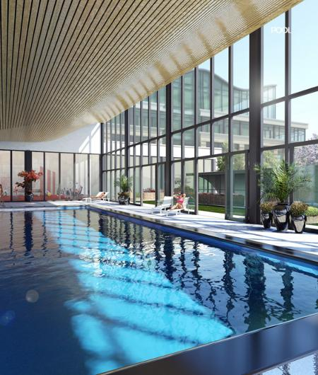 Expo Vaughan Metropolitan Centre Amenities, Swimming Pool, Gym, Party Room, Entertainment Room & Much More