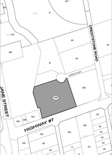 Expo Condos in Vaughan Site Map